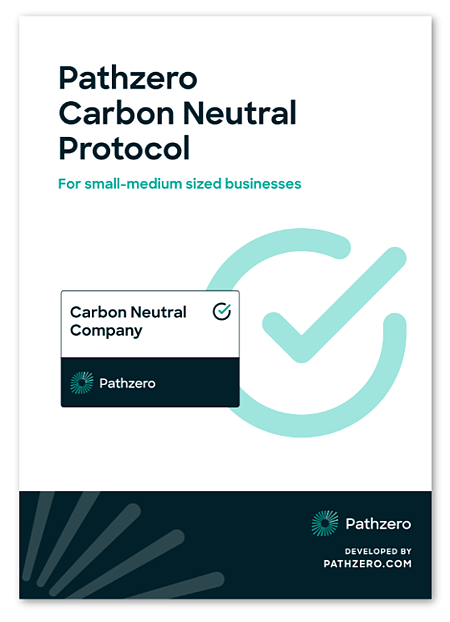 Pathzero Carbon Neutral Protocol Cover