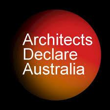 Australian Architects Declare logo